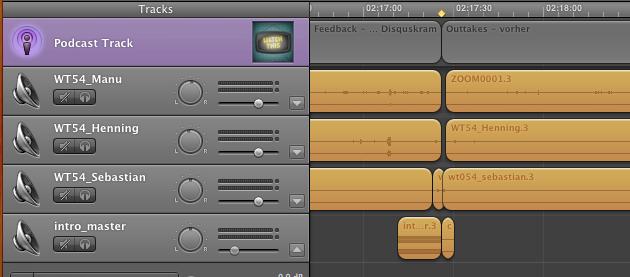 Audio-Probleme bei Folge #054